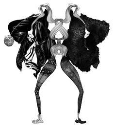 wunder-Amazing Laura Laine – fashion illustrator