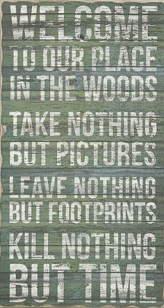 'Place in the Woods' Wall Art