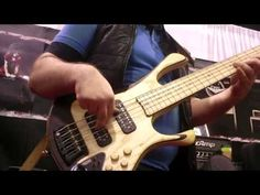 ▶ TecAmp Bass Jam at Namm 2014 - Andrew Gouche/Bartozzi/Malcolm Hall - YouTube