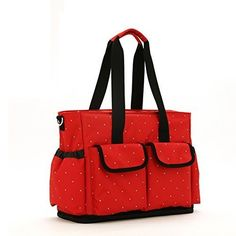 Baby Diaper Bags for Girls Boys Twins, Tote Style (Red) by Mariebaker Mariebaker http://www.amazon.ca/dp/B01AKZ9CTE/ref=cm_sw_r_pi_dp_PApNwb0TQMWX0