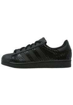 SUPERSTAR - Sneaker low - core black - I want these sooooo bad!