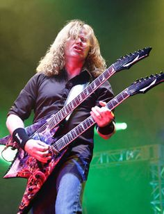 Megadeth's Dave Mustaine and David Ellefson | Premier Guitar