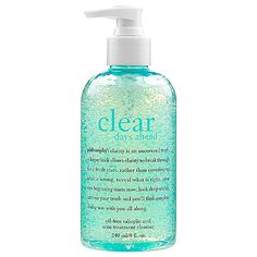 Clear Days Ahead™ Oil-Free Salicylic Acid Acne Treatment Cleanser - philosophy | Sephora