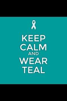 Support local woman @unacrudden 's ovarian cancer awareness campaign #tealtakeover