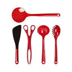 WACA Red Cookware Set