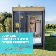101 Super Modern Shipping Container Houses Ideas, Shop, Garage, Workshop, Etc Shipping Container Dimensions, Shipping Container Workshop, Shipping Container Homes Cost, Shipping Containers, Container Shop, Container House Design, Container Houses, Container Gardening, Container Conversions