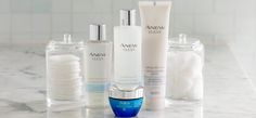 Cleanse, hydrate and rejuvenate your skin with the Anew Clean collection and the Skinvincible Deep Recovery Cream. It'll remove the dirt and oil from the day and counter  the effects of aging through Smart Repair Technology.