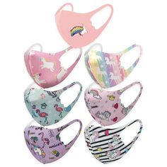 7 Days Mask Set for Kids - Unicorn