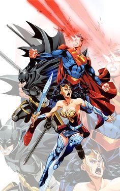 DC's Trinity by kevinTUT.deviantart.com on @deviantART