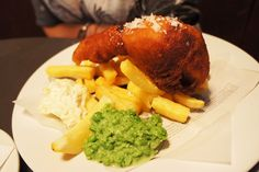 Dane's Yard Kitchen Review - Fish & Chips