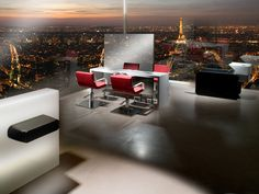 PARIS LA NUIT  Hair salon furniture Made in France by Nelson Mobilier, manufacturer    www.nelson-mobilier.com