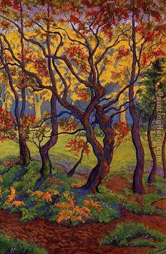 The Clearing, painted by Paul Ranson.