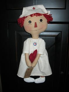 One of my favorite to make, Nurse Annie