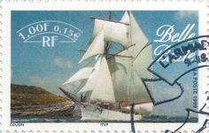 Briefmarke-Europa-Westeuropa-Frankreich-0.15-1999-Belle Poule