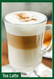 Tea Latte #tealatte Tea Latte, Pudding, Tableware, Desserts, Food, Dinnerware, Deserts, Custard Pudding, Tablewares