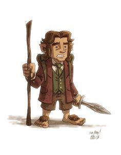 Bilbo Baggins by OtisFrampton.deviantart.com on @DeviantArt