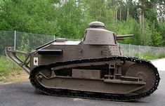 Finnish Army Renault FT Tank