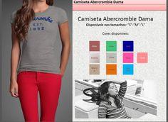 Camisetas Abercrombie dama
