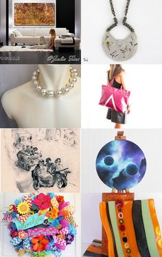 2053 - Sunday Night Round Up! by Shelley on Etsy--Pinned with TreasuryPin.com