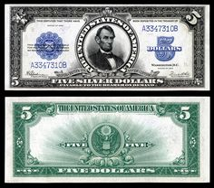 u.s. five dollar bill | United States five-dollar bill