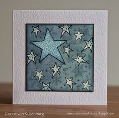 Corine's Gallery: Art Journey Crystal Background and Christmas Stars