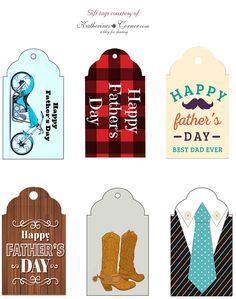 Fathers Day Gift Tag Printables Its Father's day on the 19th here in the US and I thought it would be fun to create some gift tag printables to share. My Father passed away on my 49th birthday and sadly we never had a very good relationship. But, Ithink he loved me. He told me [read more...]