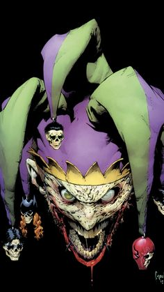 Batman: Death of the Family Saga - The Joker by Greg Capullo, colours by FCO * Joker Batman, Comic Del Joker, Joker Y Harley Quinn, Joker Dc Comics, Arte Dc Comics, Joker Art, Batman Art, Superman, Joker Death