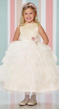 7c07fb37fe 216307 by Mon Cheri Flower Girl Gown
