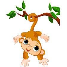 Resultado de imagen para cute baby monkey cartoon