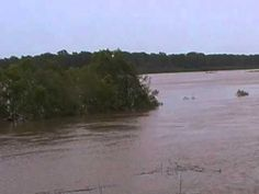 Red river flood 2015 north of Clarksville, Texas part3 - YouTube