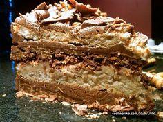 Hrskava torta od cokolade i kestena