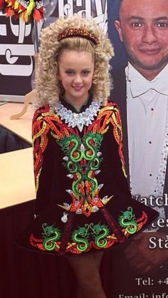 Gavin Irish Dance Solo Dress Costume