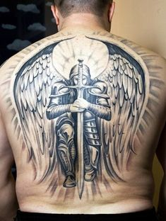 Strong and Perfect Worrior Tattoos (27)