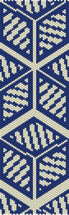 Peyote Beading, Beaded Bracelet Patterns, Beading Patterns, Beaded Bracelets, Navy And White, Etsy Store, Pattern Design, Quilts, Quilt