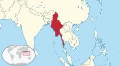 Myanmar in its region.svg