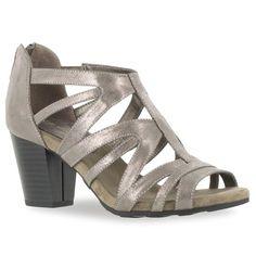 5e6a7adf3696 Easy Street Amaze Women s High Heel Sandals Medium Heel Shoes