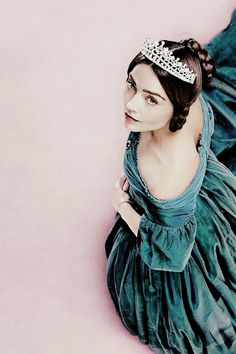 Queen Victoria - coming to PBS Masterpiece in 2017 (filling Downton's timeslot) Jenna Coleman as Victoria - the only thing I don't like: those blue contacts in her eyes...fake pupils are freaky.