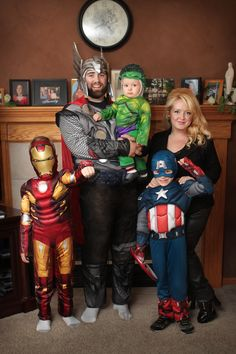 Avengers Family   Halloween Costume Contest at Costume Works.