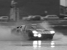 2nd place #11 Ford GT40 of Ken Miles and Bruce McLaren
