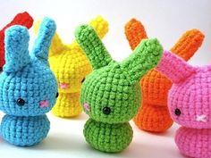 Crochet Moon Bunnies