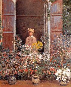 Claude Oscar Monet - Camille At The Window
