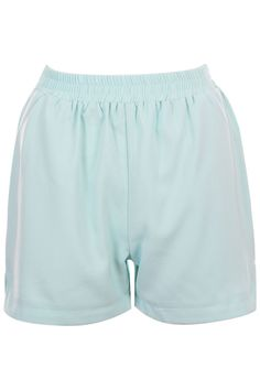 Slit Sides Green Shorts #Romwe