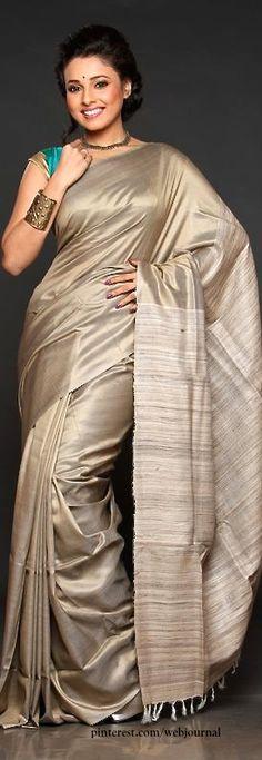 Muga silk- Handwoven sarees from Bengal