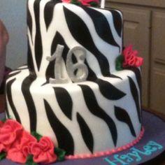 Sweet sixteen cake(: