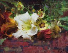 Daniel Keys, Daniel J, Large Scale Art, Sunflower Bouquets, New Artists, Beautiful Paintings, Still Life, Fine Art, Abstract