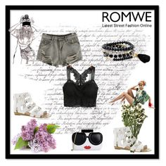"""Romwe 9"" by dinka1-749 ❤ liked on Polyvore featuring Too Late, Fergie and Alice + Olivia"