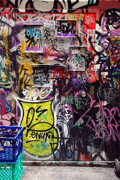 Street Art, Door, Photo by Geof Wilson,