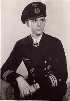 Korvettenkapitän Reinhard Hardegen (born 18 March 1913) is a German U-boat commander who sank 22 ships. He was a recipient of the Knights Cross of the Iron Cross with Oak Leaves. He is still alive today and is 102 years old.