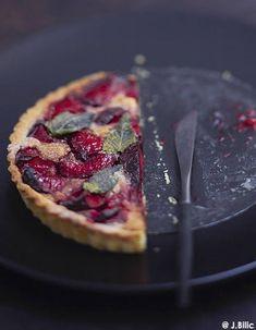 Tarte aux prunes - 50 idées de tartes faciles - Elle à Table
