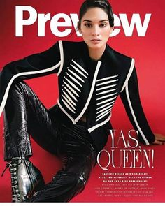 Pia Wurtzbach slaying on the cover of Preview Magazine Philippines Issue